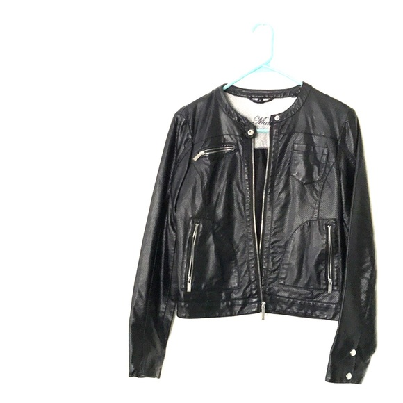 Steve Madden Jackets & Blazers - Steve Madden faux leather jacket.